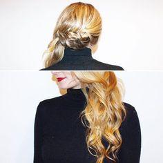 [#glitterparty] Un Side Braid Hair pour sublimer une longueur de rêve... Merci à @lilou.frey de nous avoir confié sa chevelure 💕 . . . #coiffance #madeinfrance #hairproduct #paris #parisian #parisianlife #vdb2017 #victoiresdelabeaute #blog #blogger #blonde #sidebraid #hairstyle #sidehair #braid #braids #hairdresser #hairstylist #hairinspo #glamour #beauty #fashion #modernsalon