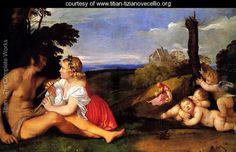 The Three Ages of Man 1511-12 - Tiziano Vecellio (Titian)…