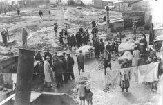 Kutno, Poland, A street scene in the ghetto, Early 1941.