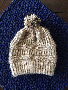 Brighton Beanie a loom knit pattern