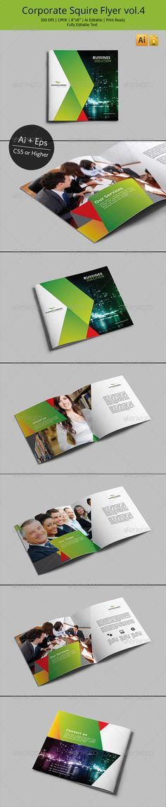 Corporate Square Brochure Vol.4 - Corporate Brochures