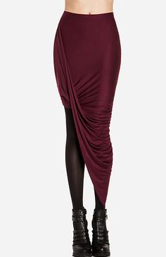 Twisted High Low Skirt. Ooohh I actually love this!