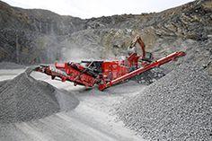 Terex Finlay I-140RS Impact Crusher #construction #mining