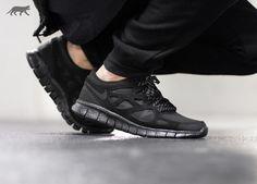 nike free run all black