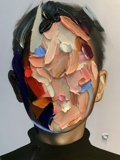 Portraits masked © s Joseph Kunst Inspo, Art Inspo, Art Sketches, Art Drawings, Dynamic Painting, Gcse Art Sketchbook, La Art, Guache, Art Hoe