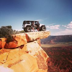 Hyter Lancaster is on the Top of the world trail.  Moab Utah #Jeep #LebanonBaddestJeep Photo Contest! Official Rules http://on.fb.me/1OaH6kT