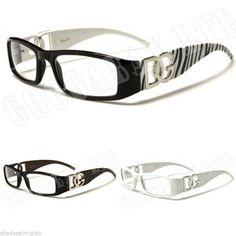 D.G womens ladies Wayfarer Clear Lens sunglasses dg 878 new