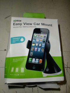 IOTTIE EASY VIEW UNIVERSAL CAR MOUNT HOLDER $23 Value