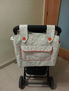 Bolsa para el carrito del bebé DIY