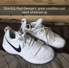 buy online 88a3c 08006 Boys Size 6.5 Nike Paul George Basketball Shoes  fashion  clothing  shoes   accessories