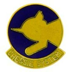 "Chessie System Railroad Pin 1"" by FindingKing. $8.99. This is a new Chessie System Railroad Pin 1"""