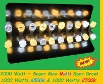 ? 2000 watt Mixed Spectrum CFL Grow Lights ?