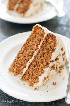 This Gluten Free Dairy Free Decadent Carrot Cake is tender and moist, with a fluffy vanilla frosting that melts in your mouth. This recipe is lower in sugar and fat than most carrot cake recipes, but certainly isn't lacking in flavor. It's absolutely delicious.My non gluten-free family members love it, and honestly, one would never...Read More »
