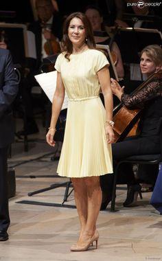 Crown Princess Mary in Prada.