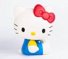 Hello Kitty Die-Cut Coin Bank: Red