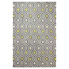 Found it at AllModern - Gracehill Hand-Tufted Navy Area Rug
