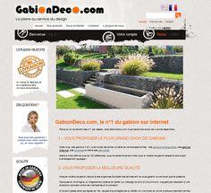 GabionDeco.com boutique en ligne de décoration extérieure http://www.clicboutic.com/blog/2013/05/17/boutique-de-la-semaine-gabion-deco/