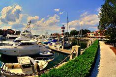 Harbour Town Marina Sea Pines Resort Hilton Head SC by Photographer Lisa Wooten