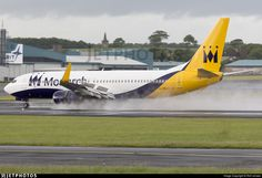 In for a wet landing on another training flight.. G-ZBAV. Boeing 737-82R. JetPhotos.com is the biggest database of aviation photographs with over 3 million screened photos online!