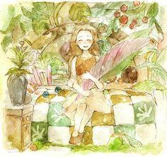 Arrietty's secret world. studio ghibli