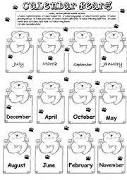 Months of the year http://espemoreno.blogspot.com.es/p/picasa.html