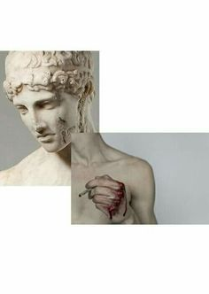 Imagen de grunge, art, and blood Statues, Arte Dope, Jace Lightwood, Donna Tartt, The Secret History, Art Plastique, Oeuvre D'art, Les Oeuvres, Collage Art