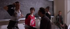 """Angelina Jolie! In a Devils jersey! From the movie """"Hackers""""! When she was very young!"""