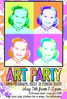 Warhol Art Party