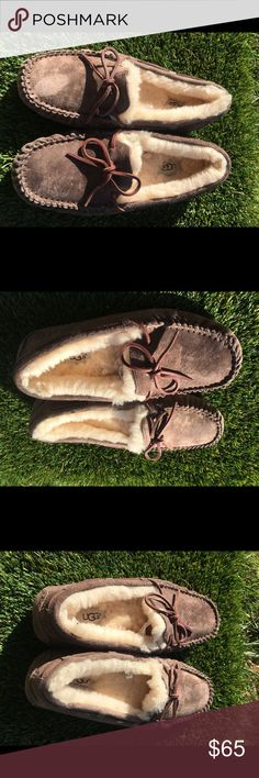 UGG Dakota Espresso Slippers size 8 Or 39 euro In excellent preowned conditions, worn 2-3 times only, no signs of heavy wear on treads or fabric! UGG Shoes Slippers