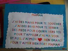 poésie fête des mères