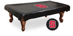 Is your game room lacking a little pizzazz? The Grand Valley State Lakers Billiard Table Cover just shouts with team spirit. A vibrant colored silk-screened Grand Valley State Lakers logo sits center on the thick black, woven backed vinyl billia. Billiard Pool Table, Billiards Pool, Pool Table Covers, Holland Bar Stool, Thing 1, Washington Capitals, Table Sizes, Poker Table, Birmingham