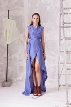 Šaty zavinovací s vlečkou. – MOLO7 Wrap Dress, Dresses, Fashion, Gowns, Moda, Fashion Styles, Wrap Dresses, Dress, Vestidos