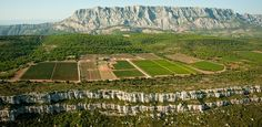 Probably the most picturesque vineyard in #Provence http://provenceguru.com/