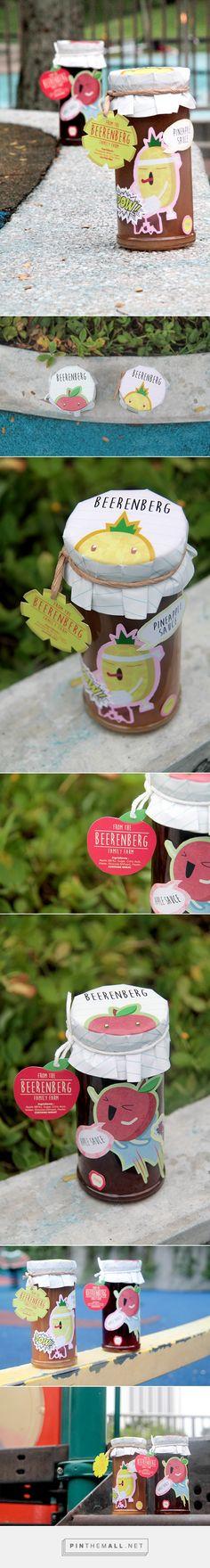 Beerenberg Family Farm Jam Label Design by Wilona Wirianta on Behance. Packaging smile : )