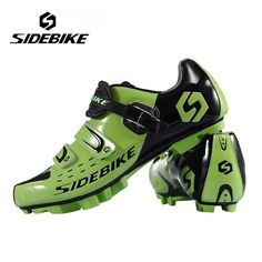 Hot SIDEBIKE Breathable MTB Cycling Shoes Adjustable Road Bike Shoes for Mountain Bike Racing MTB Bike Shoes Size EUR 40-46