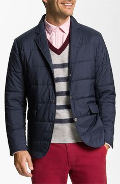 Brooks Brothers 'University' Quilted Blazer-Cut Jacket available at #Nordstrom