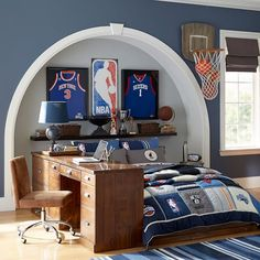 incredible kids bedding sets and decor ideas for cozy kids bedroom 17 « Dreamsscapes Boys Basketball Bedroom, Boy Sports Bedroom, Boys Bedroom Decor, Bedroom Ideas, Basketball Shoes, Basketball Boyfriend, Basketball Crafts, Street Basketball, Boys Bedroom Furniture