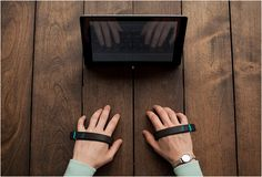 AIRTYPE is, the keyless keyboard of the future. The innovative device fits in the palm of your hand and let´s you type on any surface, it learns your finger movements and adapts to the way you type, so you don´t need to change your typing habits, it´s no different from typing on a traditional keyboard. And with Airtype there is no need for backspace, the smart device brings dynamic text prediction and correction to your typing experience.