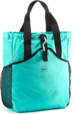 A tote or backpack for your travel needs.