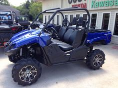 Tricked Out Yamaha Vikings