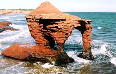 Thunder Cove Arch in Darnley, Prince Edward Island, Canada War Photography, Types Of Photography, Wildlife Photography, Aerial Photography, East Coast Canada, East Coast Travel, Kayak, Canada Travel, Canada Trip