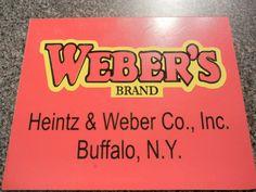 WEBER'S Brand Sign Buffalo New York