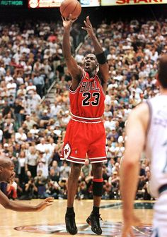Michael Jordan turned in another classic Finals performance on June 14, 1998 against the Utah Jazz. With 40 seconds remaining in Game 6, Jordan hit a layup to bring the Chicago Bulls to within one point. He then stole the ball and drained a jumper with 5.2 seconds remaining. The Bulls won the game 87-86 and claimed their sixth NBA championship. Jordan finished the game with 45 points and was named the Finals MVP.