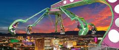 Bucket List-  Stratosphere Tower Thrill Rides in Las Vegas- From the top, view of the city looks amazing. These rides are dangerous but full of fun.