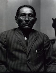 Chief Naiche, Chiricahua Apache, son of Cochise, Grandson of Mangas Coloradas. 1912 ck