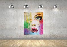 "Ramune Art ""Pure in heart""❤💋canvas 120x160🎨 #portraitartist #portraits #faces #artist #painting #webnartclub #pure #heart"