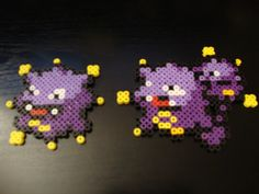 Koffing (19 tall) & Weezing