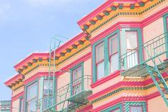 San Francisco – Little big city guide – Cachemire & Soie – Anne-Solange Tardy Dia San Francisco, San Francisco Girls, San Francisco California, San Francisco Houses, The Places Youll Go, Places To Visit, Magic City, Belle Photo, Westerns