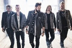 Hinder are back with a lyric video for their new single 'Hit the Ground' featuring new vocalist Nolan Neal.