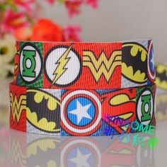 10yards 7/8 22mm the Avengers logo printed by SibrinaCreations